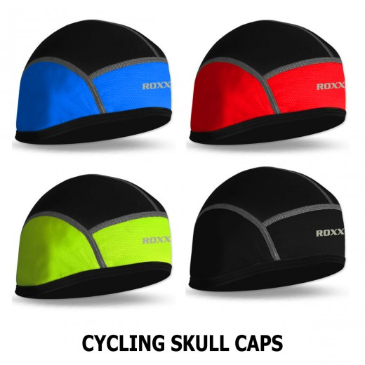 Cycling Skull Cap Bike Motorbike Under Helmet Winter Thermal Windstoper Hat NEW