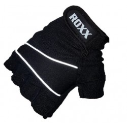Cycling Gloves Half Finger Gel Foam Padded Bike Fingerless Gloves Lightweight ROXX Sports