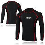 Mens Running Top Collection - Quick Dry Full Sleeve Gym Dry Sweat Wicking ROXX Sports