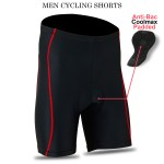 Mens Cycling Shorts Cool-max® Padding Outdoor Cycle Tight Shorts ROXX Sports