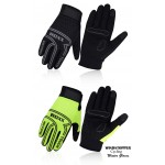 ROXX Windstopper Cycling Gloves  Gel Padded Touchscreen Full Finger Biking Gloves