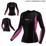 Womens Running Top Collection - Quick Dry Full Sleeve Gym Dry Sweat Wicking ROXX Sports